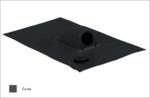 Prostup solárního kabelu prům. 31-45mm, černá