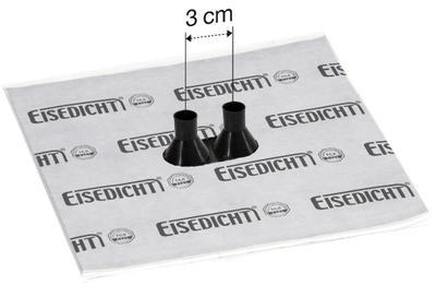 Dvojitá manžeta Fleece-Butyl GDD21 pro kabely 15-22mm