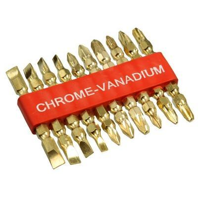Bity CHROM VANADIUM sada 10ks