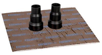 Dvojitá manžeta GasSTOP TwinPipe pro trubky 40/50/60mm