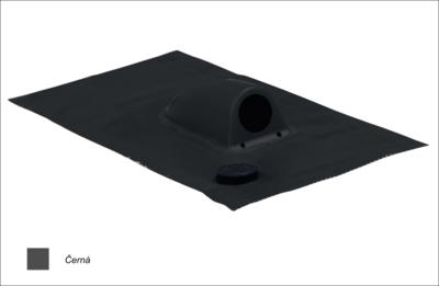 Prostup solárního kabelu prům. 31-45mm, černá - 1