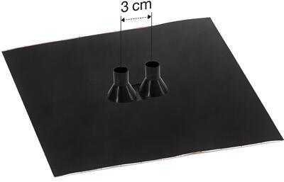 Dvojitá manžeta FacadeSEAL GDD21 pro trubky 15-22mm (3cm) - 1