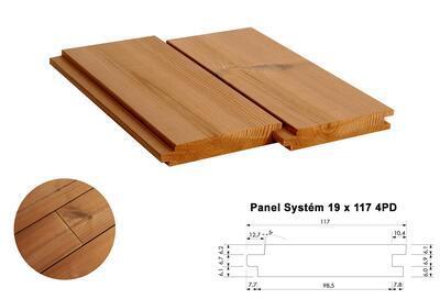 Panel Systém 19x117mm x 4,2m, 4 strany PD