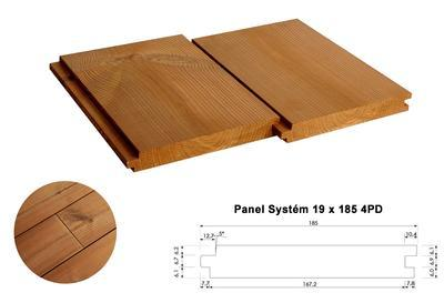 Panel Systém 19x185mm x 4,2m, 4 strany PD
