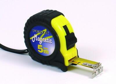 Metr svinovací 10mx25mm Magnetic 10025