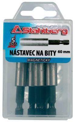 """Nástavec na bity magnetic. 1/4"""" 1ks 60mm"""