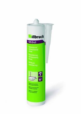GS241 Sanitární silikonový tmel - transparentní 310ml