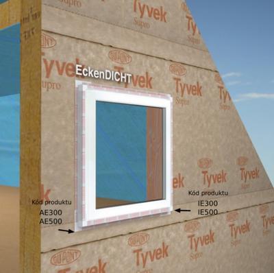 Těsnící roh CornerSEAL Inside, vnější roh 50x50mm - 2