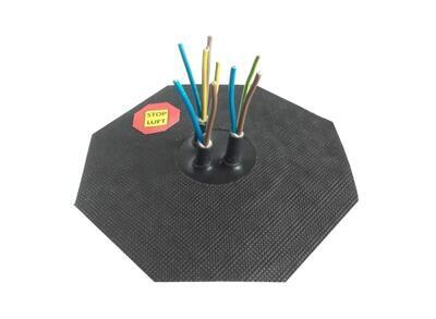 Manžeta pro kabel 4-10mm, 3x průchod - 2