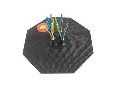 Manžeta pro kabel 4-10mm, 4x průchod - 2