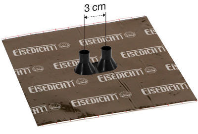 Dvojitá manžeta Alu-Butyl GDD21 pro kabely 15-22mm - 2