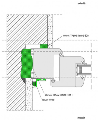 Komprimační páska TP652 illmod Trio+ 10-45x88mm /L/ - 2