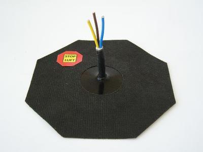 Manžeta pro kabel 4-10mm, 1x průchod - 2