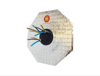 AL manžeta pro kabel 4-10mm, 3x průchod - 2