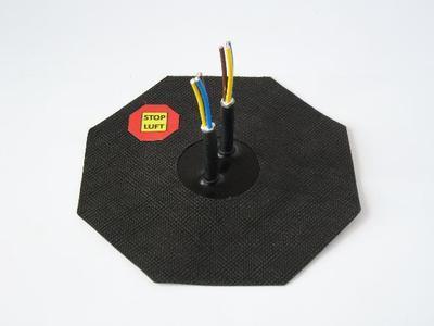 Manžeta pro kabel 4-10mm, 2x průchod - 2