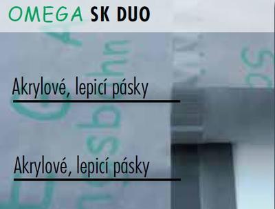OMEGA Fasádní folie  1,4mx50m SK DUO - 2