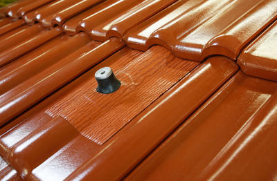 Střešní manžeta RoofSEAL RGD75 průchod 75-90mm, cihlová - 3