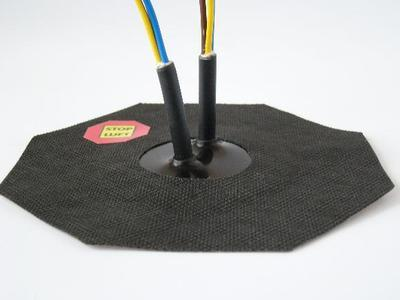 Manžeta pro kabel 4-10mm, 2x průchod - 3