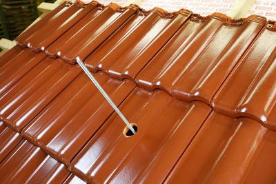 Střešní manžeta RoofSEAL GD21 průchod 15-22mm, cihlová - 4