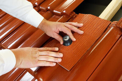 Střešní manžeta RoofSEAL RGD50 průchod 50-70mm, cihlová - 4