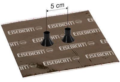 Dvojitá manžeta Alu-Butyl GDD21 pro trubky 15-22mm - 5