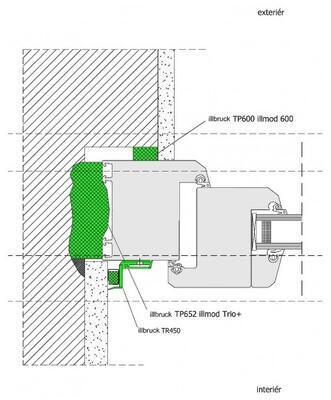 Komprimační páska TP652 illmod Trio+ 8-33x77mm /M/ - 5