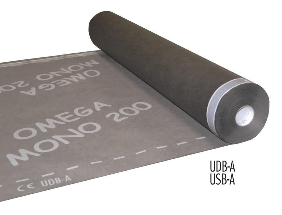 Difůzní fólie OMEGA MONO 200SK DUO 75m2